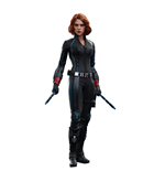 Vengadores La Era de Ultrón Figura Movie Masterpiece 1/6 Black Widow 28 cm