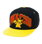 Pokemon Gorra Béisbol Snap Back Pikachu