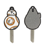 Star Wars Episode VII Pack 2 Fundas para Llaves Characters