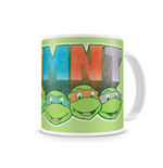 Tortugas Ninja Taza Distressed Faces
