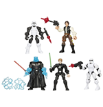 Star Wars Hero Mashers Pack de 5 Figuras 2015 Episode VI
