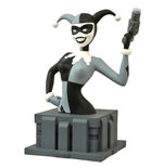 Batman The Animated Series Busto Almost Got 'Im Harley Quinn Black & White NYCC 2015 Exclusive 15 cm