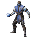 Mortal Kombat X Figura Sub-Zero Ice Variant Previews Exclusive 15 cm