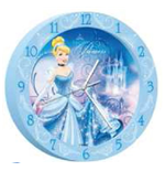 Reloj de pared Cenicienta 179549