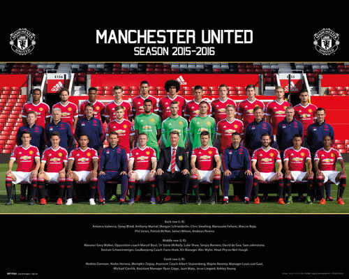Póster Manchester United FC 179633
