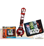 Set Regalo: Reloj + Cartera Star Wars