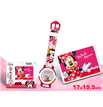 Set Regalo: Reloj + Cartera Minnie