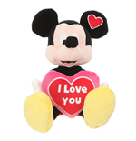 Peluche I Love You Mickey Mouse