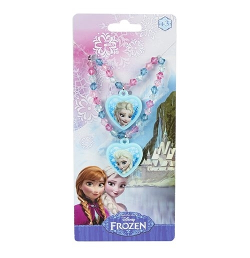 Set Pulsera + collar Frozen Azul