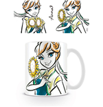 Frozen Taza Anna Illustration