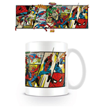 Marvel Comics Taza Spider-Man Panels