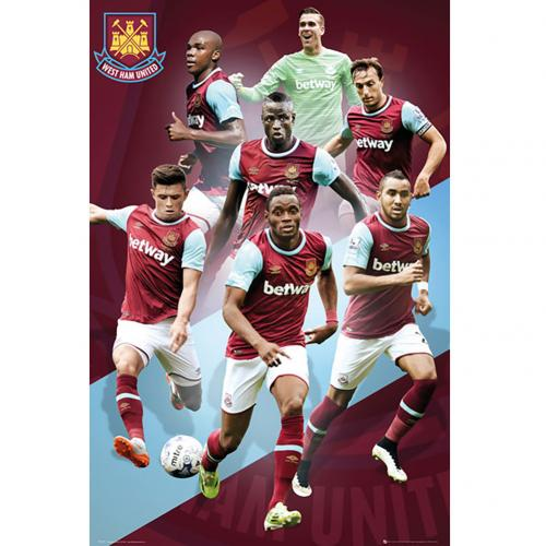 Póster West Ham United 180396