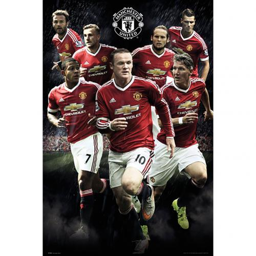 Póster Manchester United Players 114