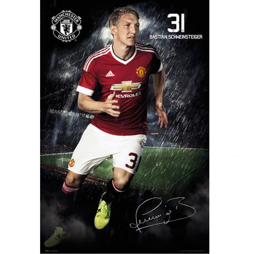 Póster Manchester United FC 180400