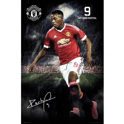 Póster Manchester United FC 180401