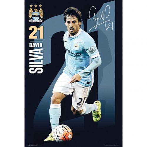 Póster Manchester City FC 180402