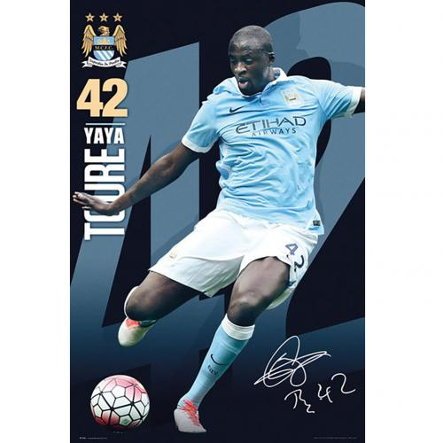 Póster Manchester City FC 180403