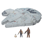 Star Wars Episode VII Vehículo con Figuras 2015 Battle Action Millennium Falcon