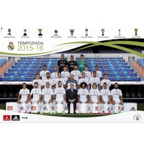 Póster Real Madrid Squad 66