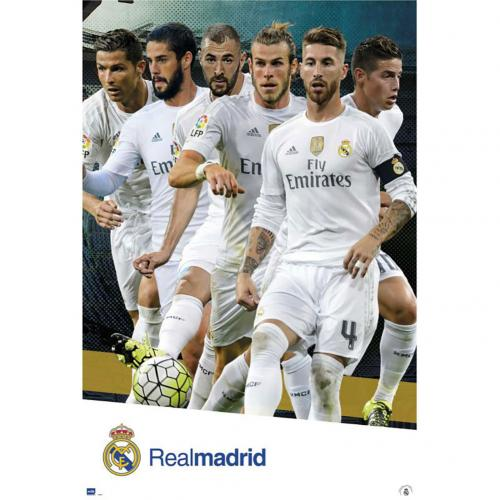 Póster Real Madrid 180680