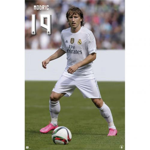 Póster Real Madrid Modric 52