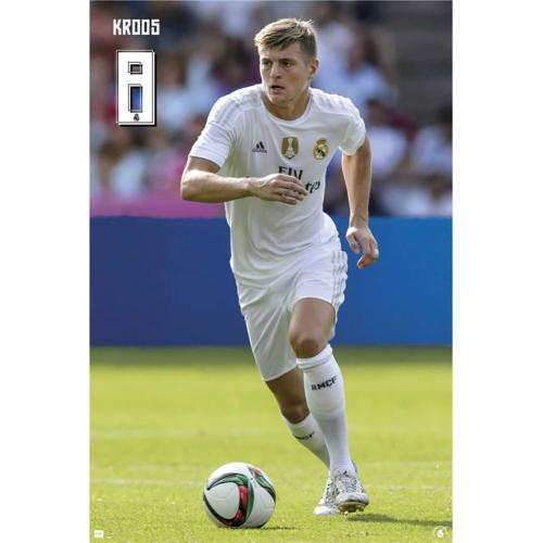 Póster Real Madrid Kroos 60