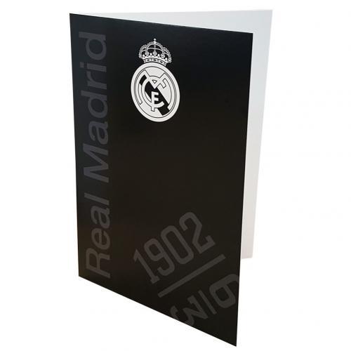 Compra Tarjeta De Cumpleanos Real Madrid Original