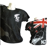 Camiseta All Blacks New Zealand Kiwi