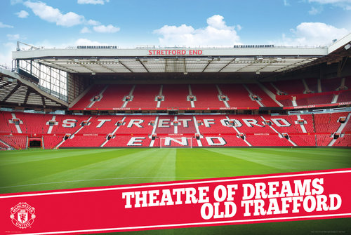 Póster Manchester United FC 180847
