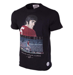 Camiseta George Best (Negro)