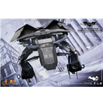 Batman The Dark Knight Rises Vehículo Movie Masterpiece Compact 1/12 The Bat Deluxe 27 cm