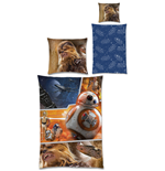 Star Wars Episode VII Funda Nórdica Reversible The Force Awakens 135 x 200 cm / 80 x 80 cm