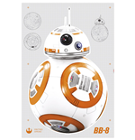 Star Wars Episode VII Pegatinas de Pared BB-8 100 x 70 cm