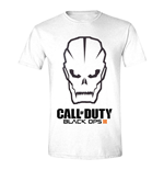 Camiseta Call Of Duty Black Ops III Men's Skull - Large