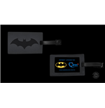 DC Comics Etiqueta del equipaje Batman Logo SDCC Exclusive
