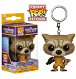 Guardianes de la Galaxia Llavero Pocket POP! Vinyl Rocket Raccoon 4 cm