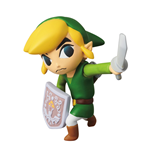 Nintendo Minifigura UDF Serie 1 Link (The Legend of Zelda: The Wind Waker) 6 cm
