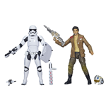 Star Wars Black Series Packs de 2 Figuras 2015 Poe Dameron & Stormtrooper Exclusive 15 cm
