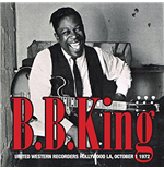 Vinilo B.B. King - United Western Recorders Hollywood La, October 1 1972 (2 Lp)