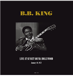 Vinilo B.B. King - Live At Sunset Sound  Hollywood  Ca January 10  1972 (2 Lp)