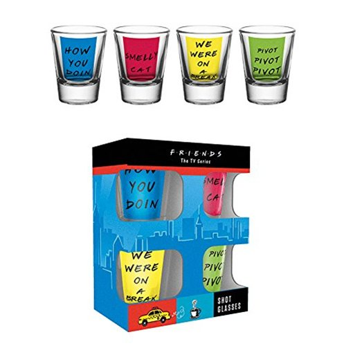 Pack Vasos de Chupitos Friends - Quotes