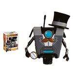 Borderlands POP! Games Vinyl Figura Gentleman Claptrap Limited Edition 9 cm