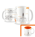Star Wars Episode VII Taza X-Wing Fighter