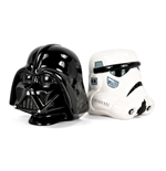 Star Wars Soportalibros Stormtrooper and Vader 15 cm