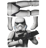 Star Wars Pegatinas de Pared Stormtrooper 100 x 70 cm