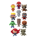 Marvel Comics Llaveros 4 cm Serie 1 Exspositor (24)