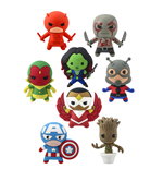 Marvel Comics Llaveros 4 cm Serie 2 Exspositor (24)