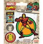 Marvel Comics Pegatina Vinilo Pack Iron Man (10)