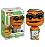 Barrio Sésamo Figura POP! TV Vinyl Oscar Orange Limited Edition 9 cm
