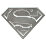 Superman The Animated Series Abrebotella Logo 10 cm